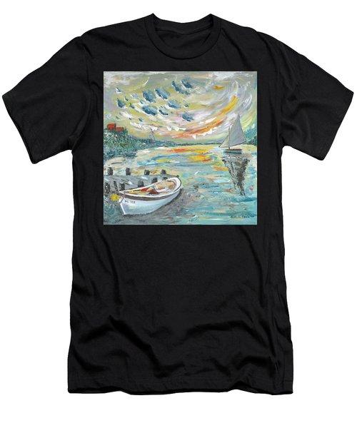 A Dutch Sunset Men's T-Shirt (Athletic Fit)