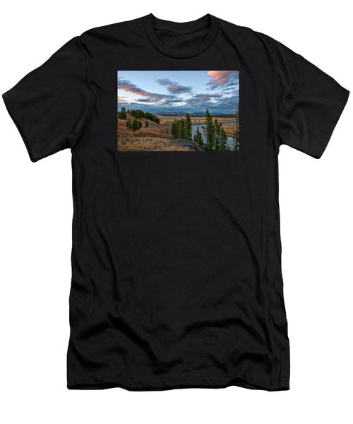 A Fall Evening In Hayden Valley Men's T-Shirt (Athletic Fit)
