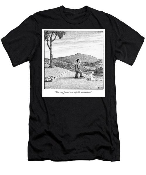 A Feeble Adventurer Men's T-Shirt (Athletic Fit)
