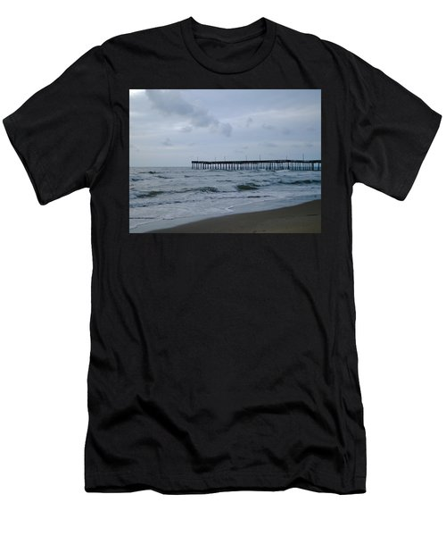 A Fishing Pier At Dawn Men's T-Shirt (Athletic Fit)