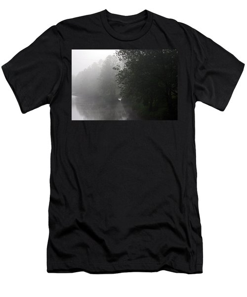 A Foggy Morning In Pennsylvania Men's T-Shirt (Athletic Fit)