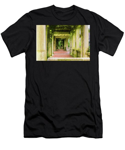 A Garden House Entryway. Men's T-Shirt (Athletic Fit)