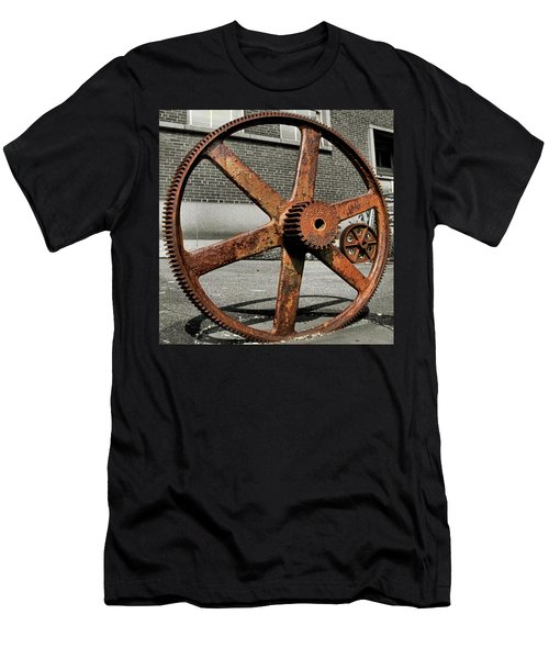 A Gear In A Gear Men's T-Shirt (Athletic Fit)