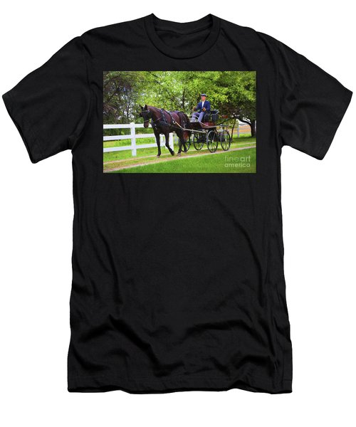 A Gentleman's Sunday Ride Men's T-Shirt (Athletic Fit)