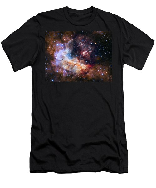 a giant cluster of about 3,000 stars called Westerlund Men's T-Shirt (Athletic Fit)