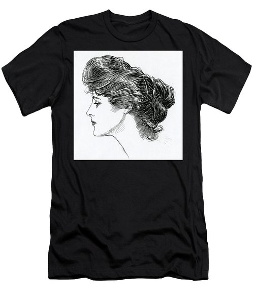 A Gibson Girl, 1902 Men's T-Shirt (Athletic Fit)