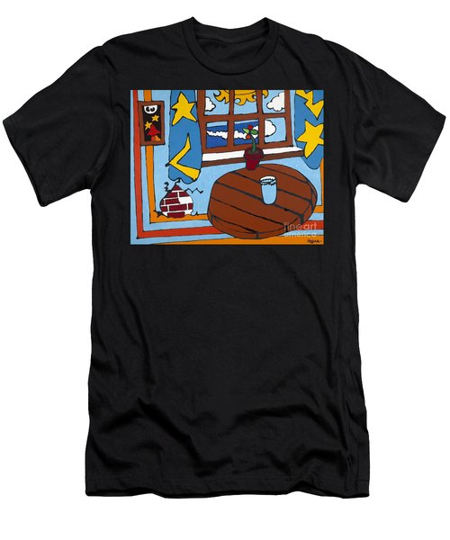 A Glass Of Water Men's T-Shirt (Athletic Fit)