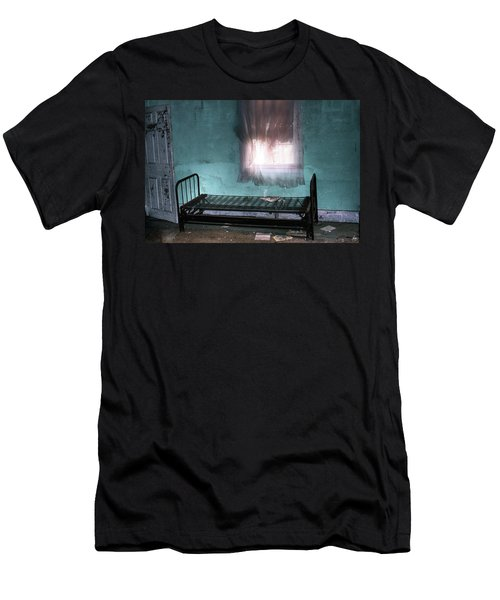 Men's T-Shirt (Athletic Fit) featuring the photograph A Glow Where She Slept by Wayne King