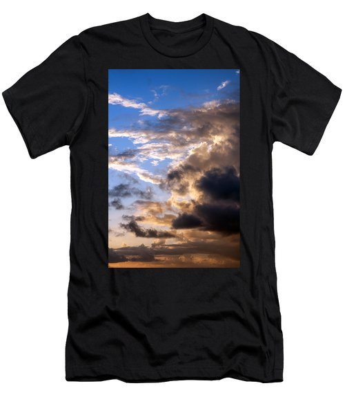 a Good Morning Men's T-Shirt (Slim Fit) by Allen Carroll
