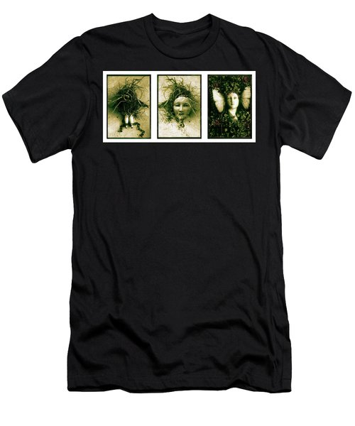 A Graft In Winter Triptych Men's T-Shirt (Athletic Fit)