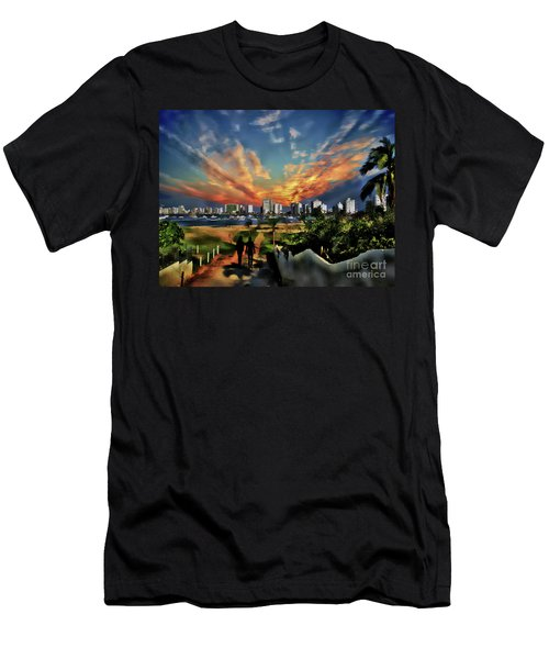 A Great Day In Salinas, Ecuador Men's T-Shirt (Athletic Fit)