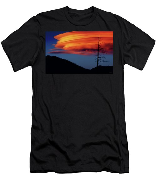 A Haunting Sunset Men's T-Shirt (Athletic Fit)