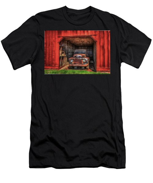 A Hiding Place 1949 Ford Pickup Truck Men's T-Shirt (Athletic Fit)