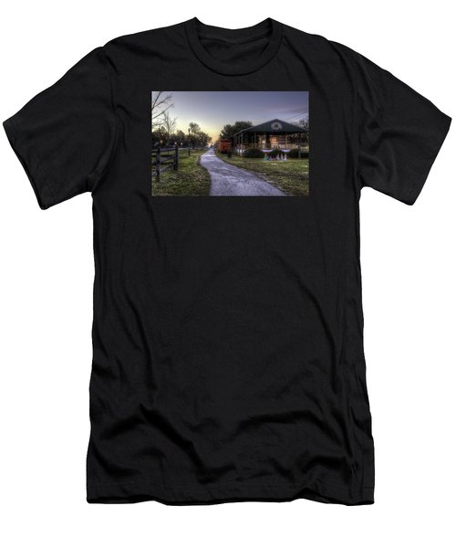A Hometown Christmas Men's T-Shirt (Athletic Fit)
