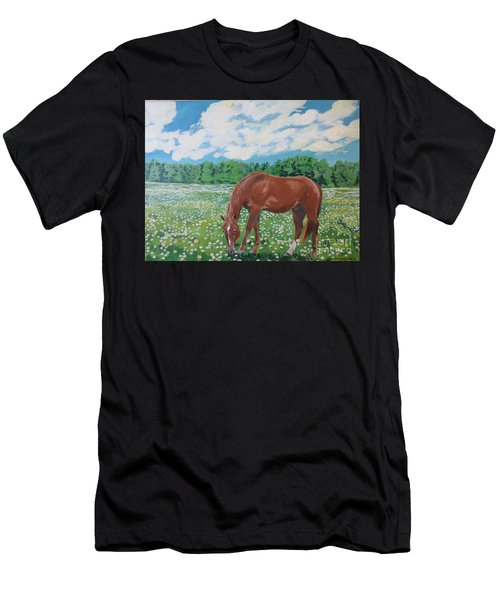 A Horse Named Dante Men's T-Shirt (Athletic Fit)