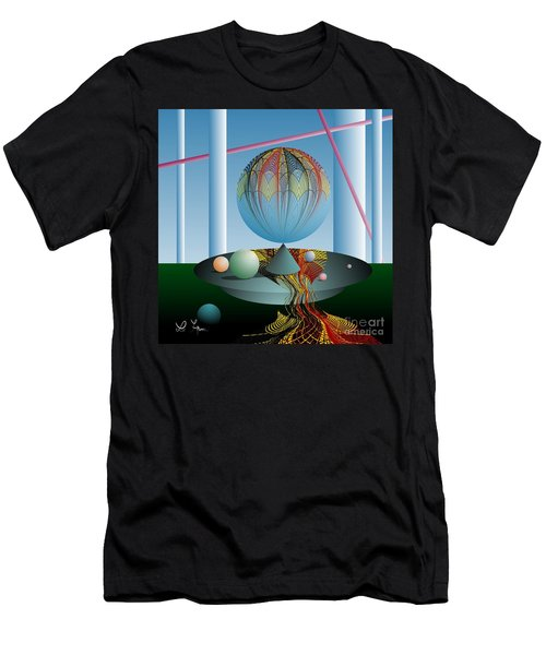 A Kind Of Magic Men's T-Shirt (Slim Fit) by Leo Symon