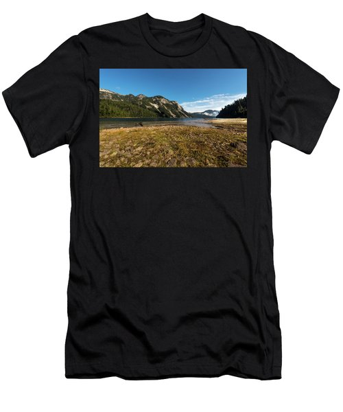A Lake In The Mountains Men's T-Shirt (Athletic Fit)
