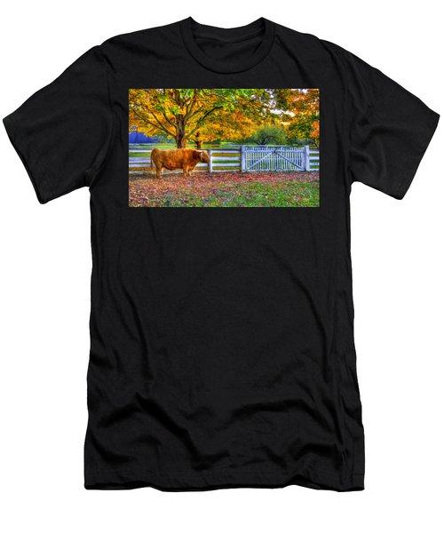 A Little Shaker Bull Men's T-Shirt (Athletic Fit)