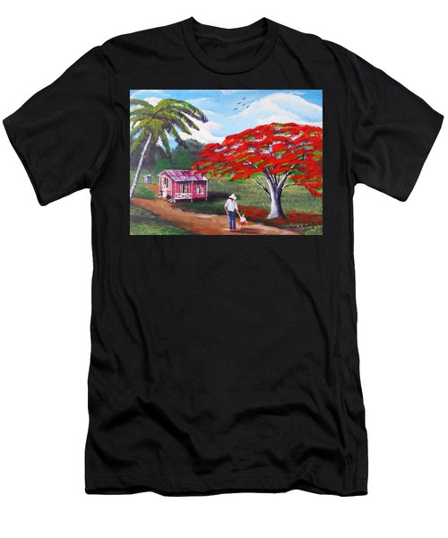 A Memorable Walk Men's T-Shirt (Athletic Fit)
