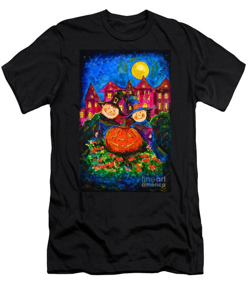 A Merry Halloween Men's T-Shirt (Athletic Fit)