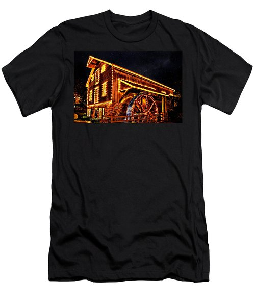 A Mill In Lights Men's T-Shirt (Athletic Fit)