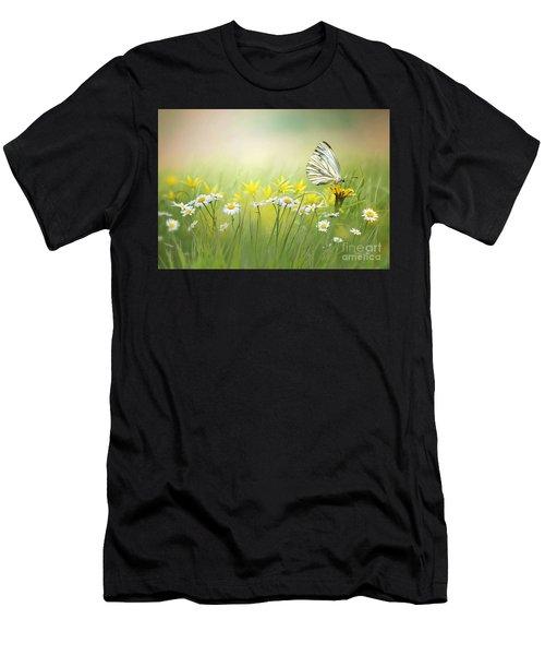 Light Wings Men's T-Shirt (Athletic Fit)