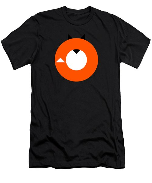 A Most Minimalist Fox Men's T-Shirt (Athletic Fit)