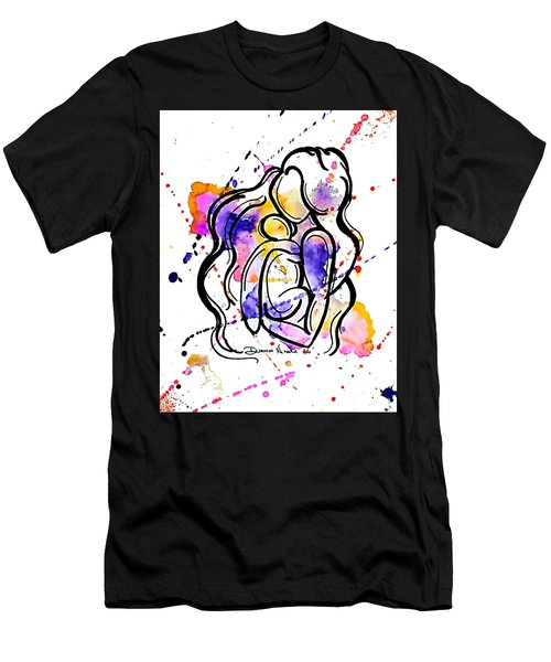 A Mother's Love Men's T-Shirt (Slim Fit) by Diamin Nicole
