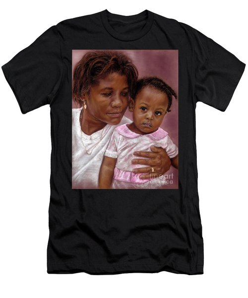 A Mother's Love Men's T-Shirt (Athletic Fit)