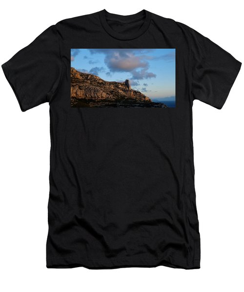 A Mountain With A View Men's T-Shirt (Athletic Fit)