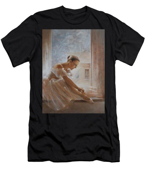A New Day Ballerina Dance Men's T-Shirt (Athletic Fit)