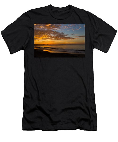 Men's T-Shirt (Athletic Fit) featuring the photograph A New Day by Lora Lee Chapman
