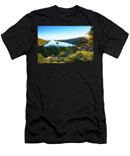 A New Day Over Emerald Bay Men's T-Shirt (Athletic Fit)