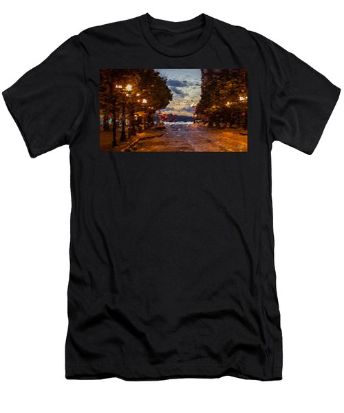 A Night Out On The Town Men's T-Shirt (Athletic Fit)