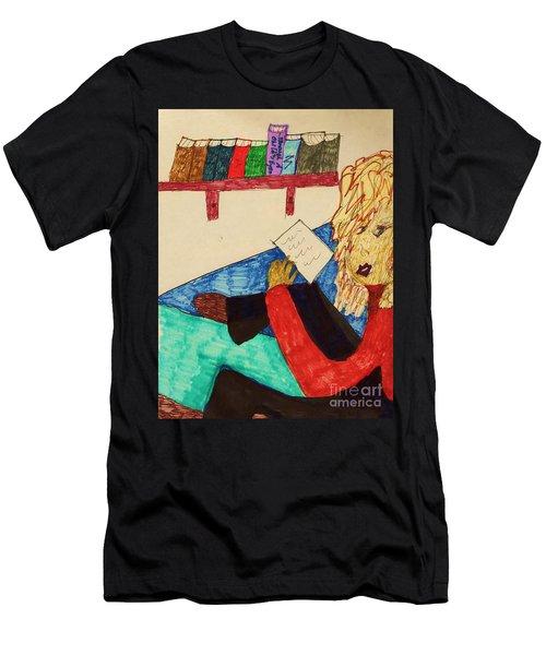 A Note Men's T-Shirt (Athletic Fit)