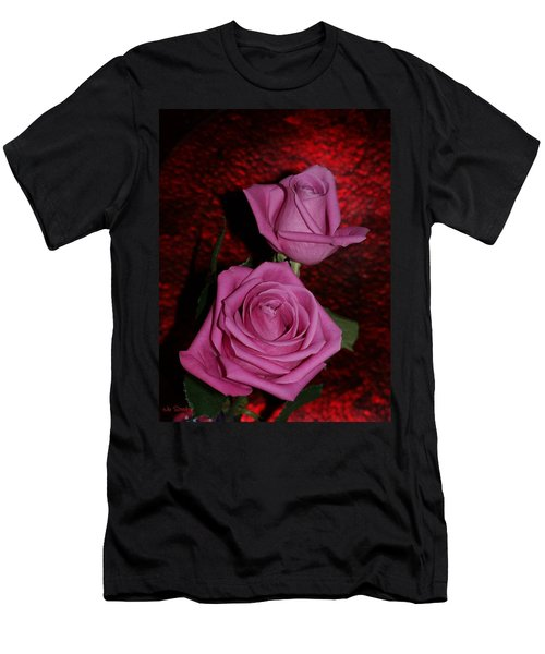 A Pair Of Pink Roses Men's T-Shirt (Athletic Fit)