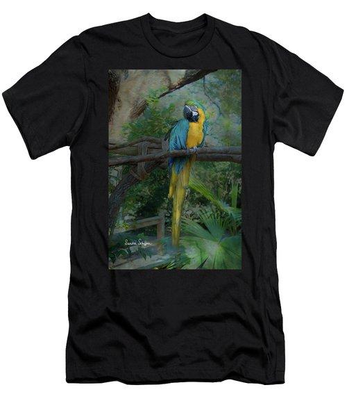A Parrot's Life Men's T-Shirt (Athletic Fit)