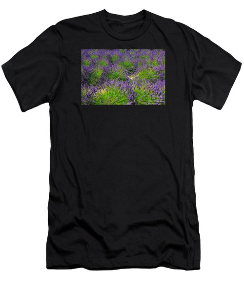 A Pattern Of Lavender Men's T-Shirt (Athletic Fit)