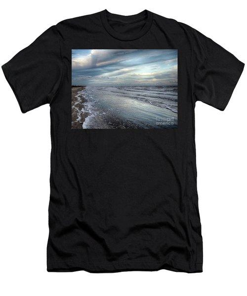 A Peaceful Beach Men's T-Shirt (Athletic Fit)