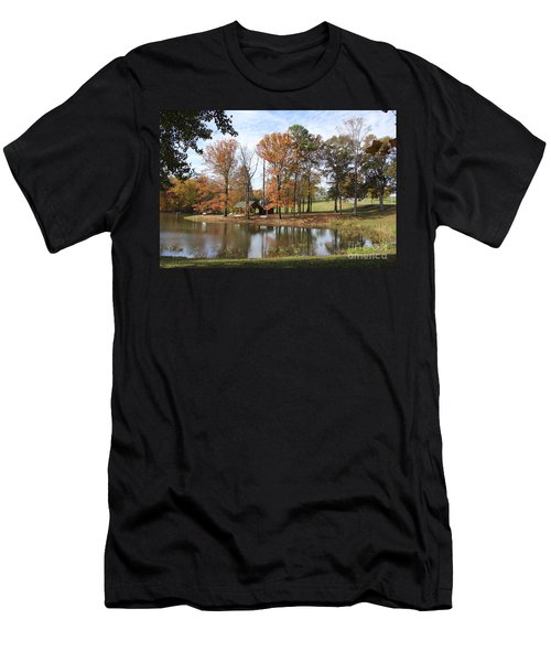 A Peaceful Spot Men's T-Shirt (Athletic Fit)