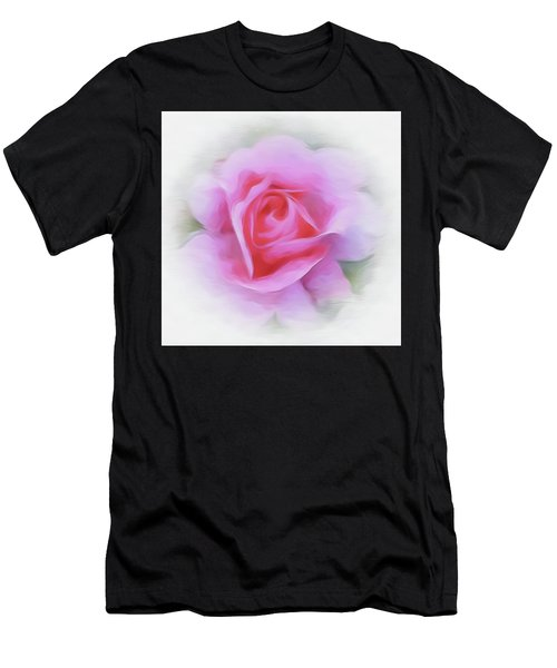 A Perfect Pink Rose Men's T-Shirt (Athletic Fit)