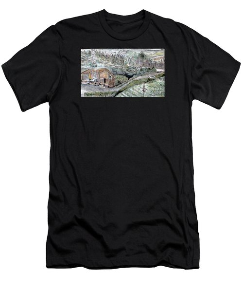 A Piece Of Earth From Hills Of Northeast India Men's T-Shirt (Athletic Fit)