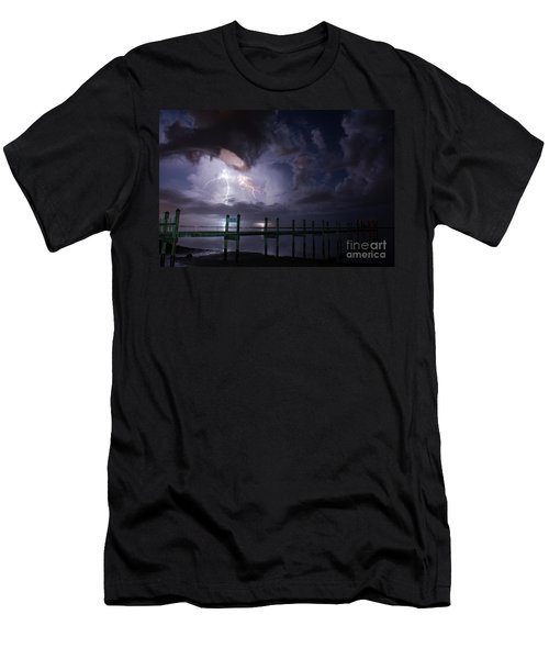 A Pier With A View Men's T-Shirt (Athletic Fit)