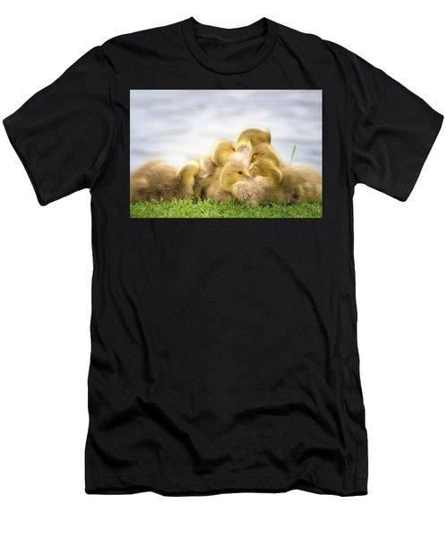 A Pile Of Goslings Men's T-Shirt (Athletic Fit)