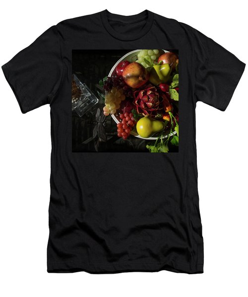 A Plate Of Fruits Men's T-Shirt (Athletic Fit)