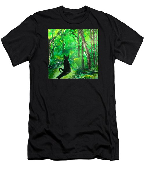 A Purrfect Day Men's T-Shirt (Athletic Fit)
