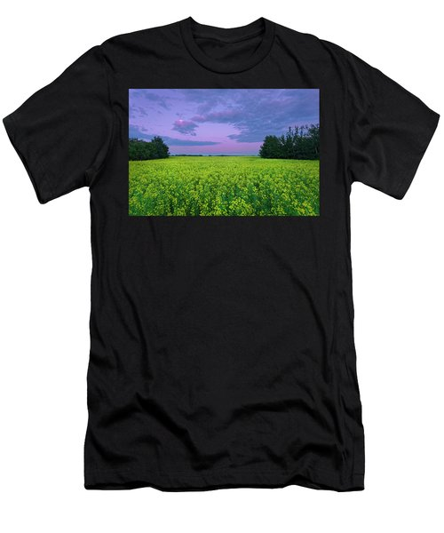 A Quiet Evening In Alberta Men's T-Shirt (Athletic Fit)