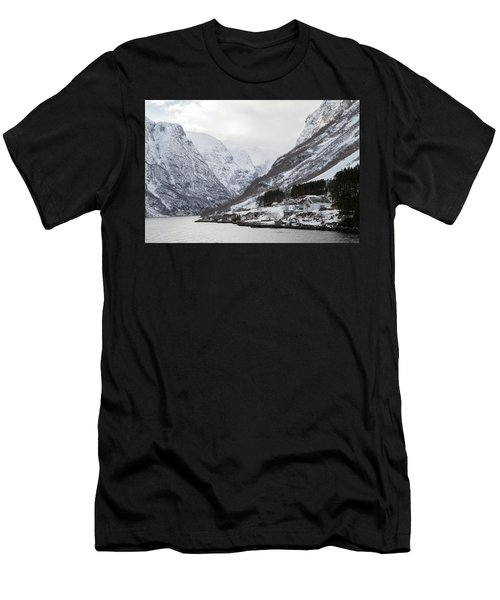 Men's T-Shirt (Athletic Fit) featuring the photograph A Quiet Life by David Chandler