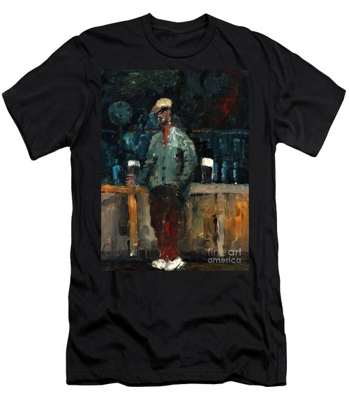 F 772  Holy Hour A Pint And A Spare. Men's T-Shirt (Athletic Fit)