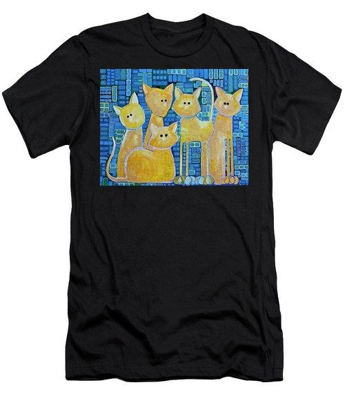A Quorum Of Cats Men's T-Shirt (Athletic Fit)